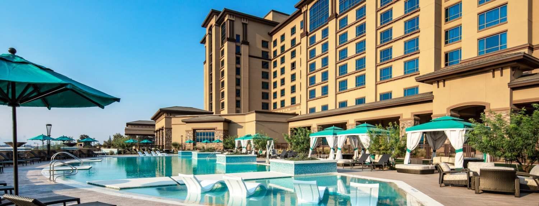 布鲁克斯 Cache Creek 赌场度假村的酒店
