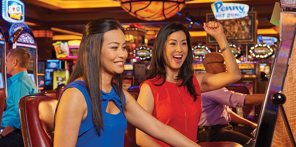 Gaming Slot at the Cache Creek Casino Resort, Brooks