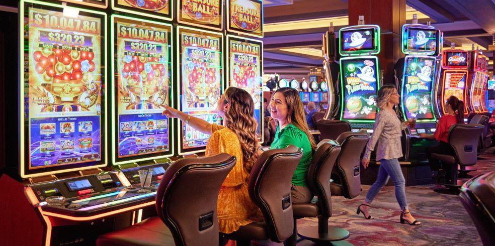 Gaming Slot at Cache Creek Casino Resort