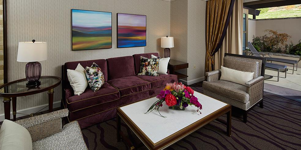 Hotel Ambassador Suite at Cache Creek Casino Resort, Brooks