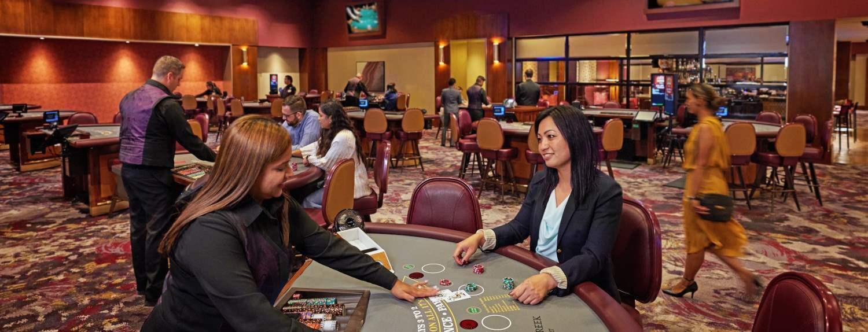 Gaming at the Cache Creek Casino Resort, Brooks