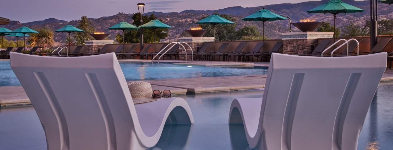 Pool at the Cache Creek Casino Resort Brooks