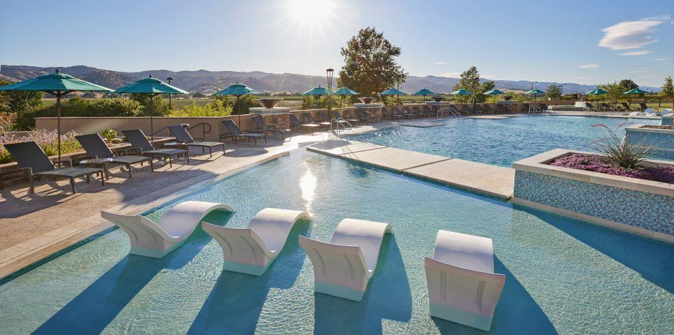 South Pool at Cache Creek Casino Resort, Brooks