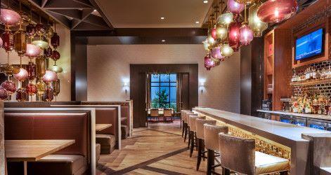 Comedor C2 Steak & Seafood en el Cache Creek Casino Resort, Brooks
