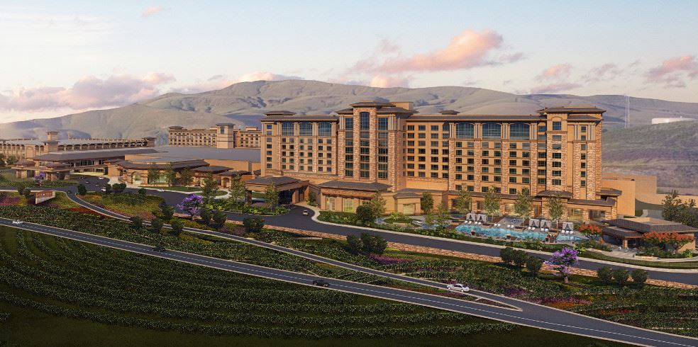 Expansión del hotel en Cache Creek Casino Resort, Brooksesort, Brooks