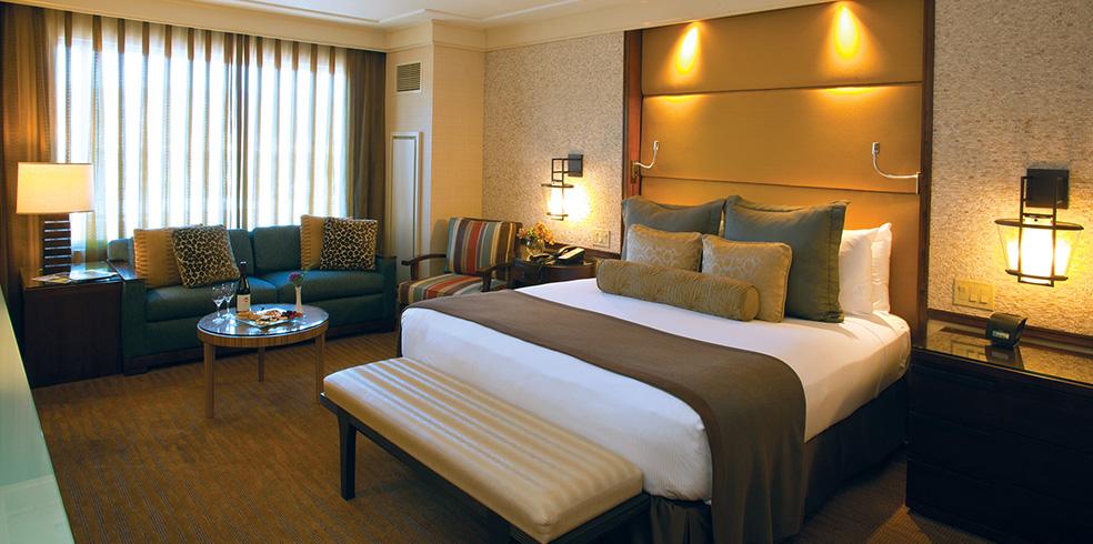 Habitaciones de lujo del hotel en Cache Creek Casino Resort, Brooks