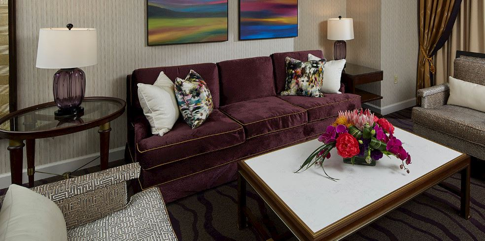 Suite Ejecutiva del hotel en Cache Creek Casino Resort, Brooks