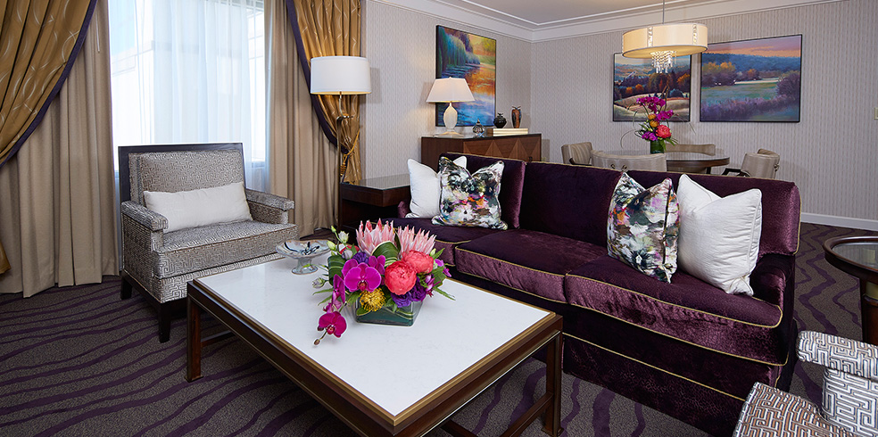 Suite presidencial del hotel en Cache Creek Casino Resort, Brooks