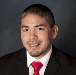 Antonio Gómez, anfitrión del casino en el Cache Creek Casino Resort