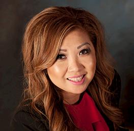 Elaine Patterson, anfitrión del casino en el Cache Creek Casino Resort