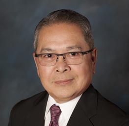 Lester Oreta, anfitrión del casino en el Cache Creek Casino Resort