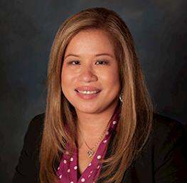 Penny Leonzon, anfitrión del casino en el Cache Creek Casino Resort