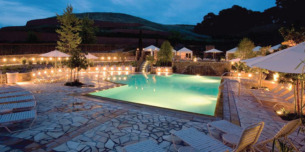 Piscinas en el Cache Creek Casino Resort, Brooks