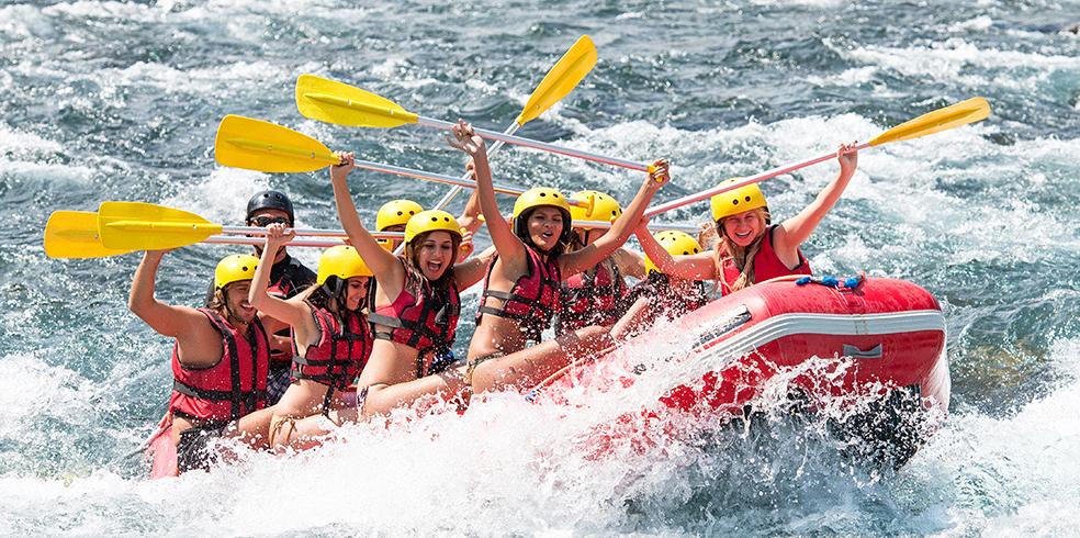 Atracciones del resort - Aventuras en aguas bravas en el resort de Brooks, California