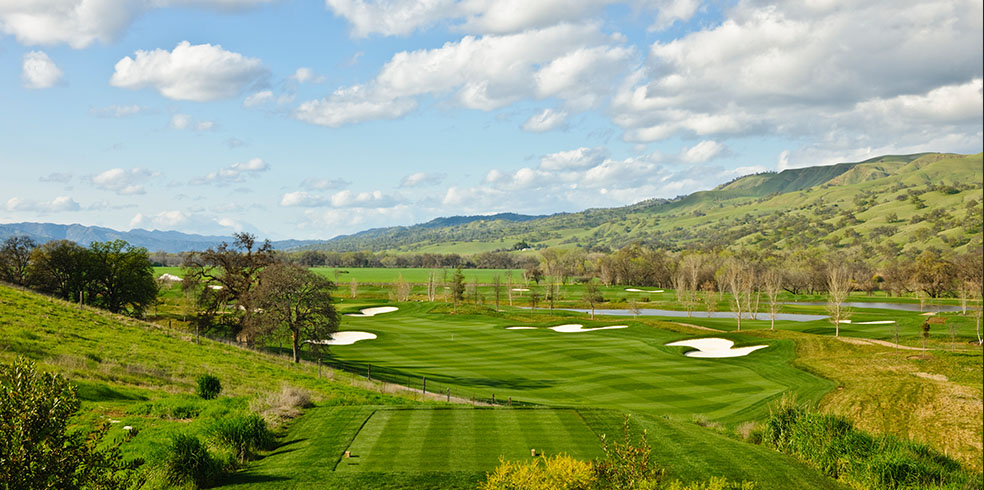 Club de golf Yocha Dehe en el Cache Creek Casino Resort, Brooks