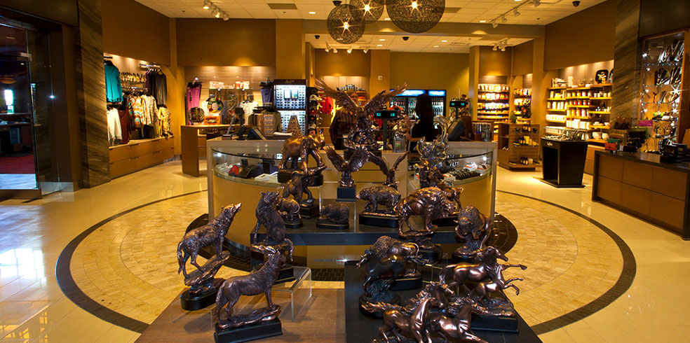 Tienda de regalos en el Cache Creek Casino Resort, Brooks