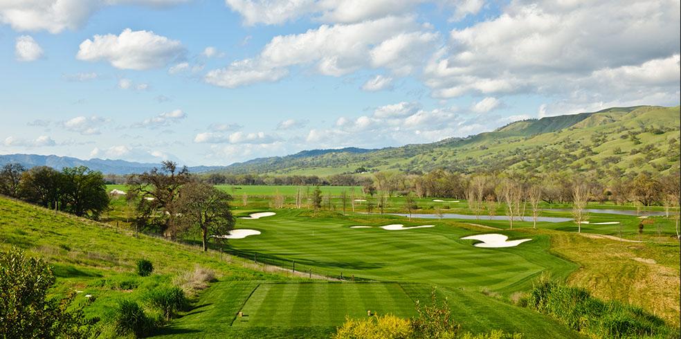 Câu lạc bộ Golf Yocha Dehe tại Cache Creek Casino Resort, Brooks